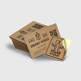 Naklejki na papierze ekoKraft