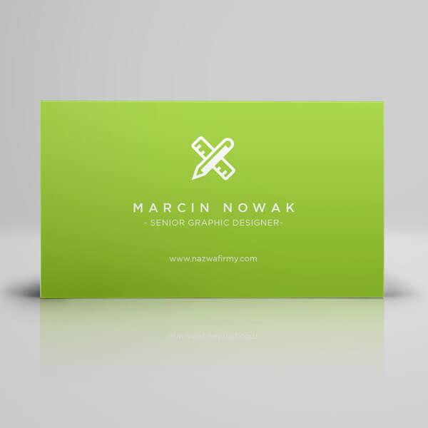 wizytówki z foliowaniem matowym | karty biznesowe