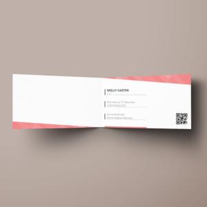 Drukarnia online, druk wizytówek składanych, winiety na stół, Sklepdruku